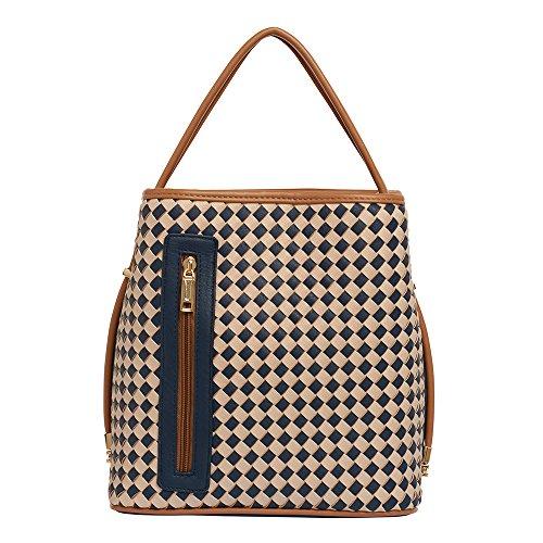 samoe-style-navy-and-beige-basketweave-woven-classic-convertible-handbag