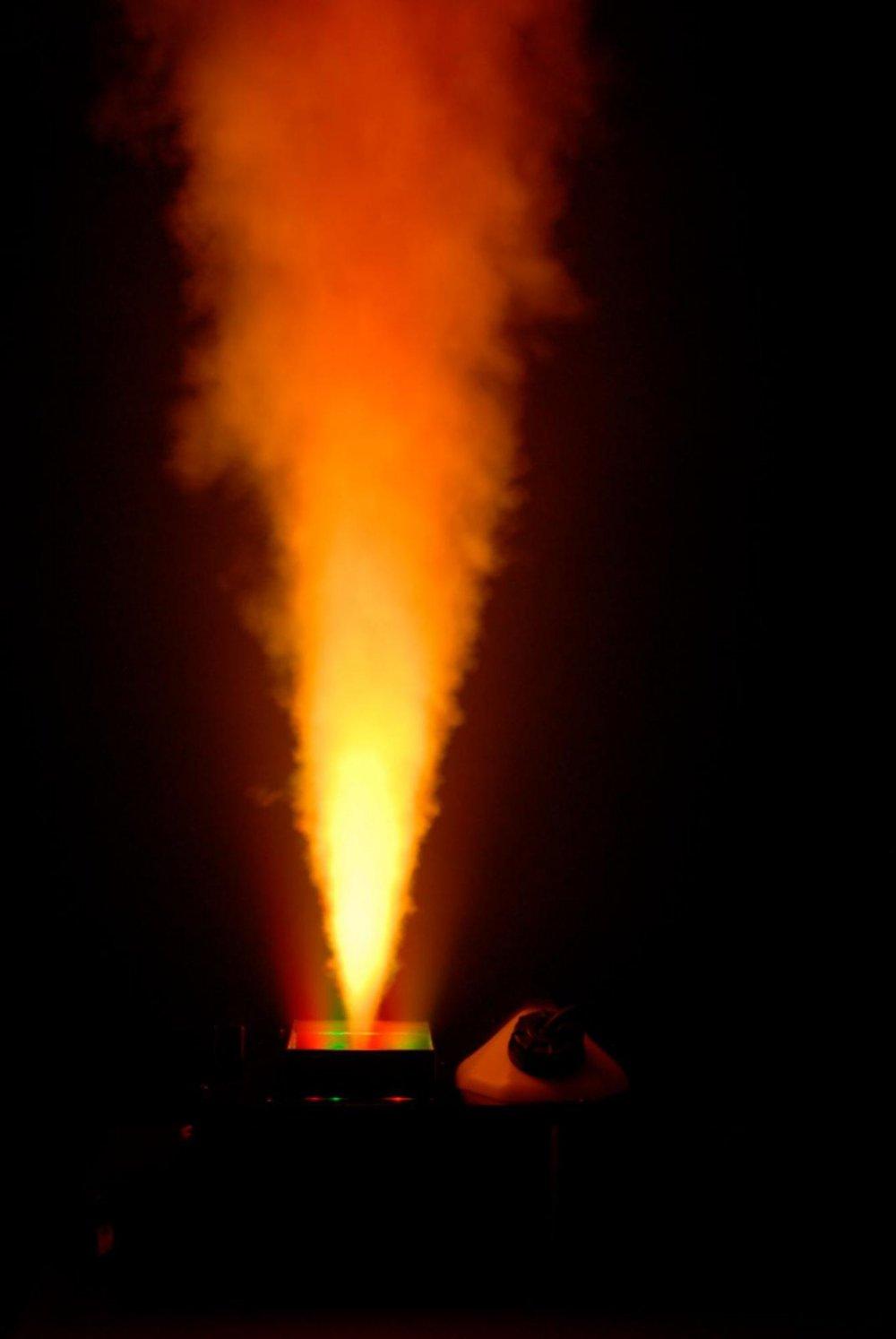 Amazon.com: CHAUVET DJ Geyser P6 Vertical Fog Machine w/LED Light Effects/Wireless Remote & Built-in DMX | Fog Machines: Musical Instruments