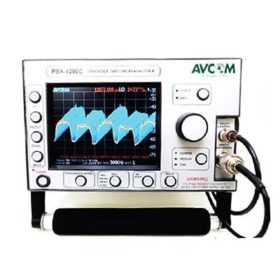 Avcom PSA-4200C 5 MHz - 4200 MHz Portable Spectrum Analyzer with Display