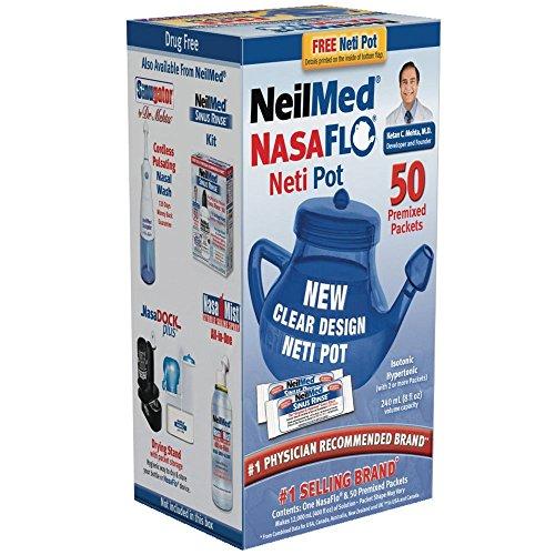 NeilMed NasaFlo Unbreakable Premixed Packets product image