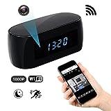 Best Hidden Cam Keys - Spy Hidden Wi-Fi Camera, ZDMYING Wireless Alarm clock Review