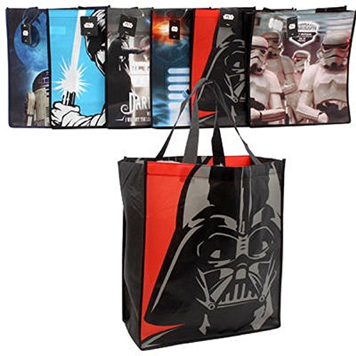 Star Wars Shopping Tote Bags Set of 6 - Large