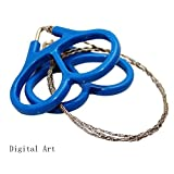 digital art Wire Saw for Camping Stainless Steel Emergency...
