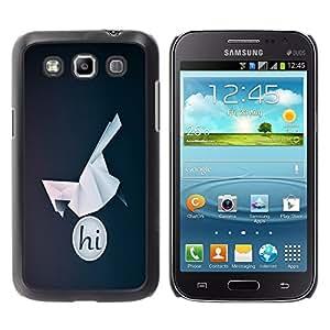 "For Samsung Galaxy Win I8550 , S-type HI Pájaro de Origami"" - Arte & diseño plástico duro Fundas Cover Cubre Hard Case Cover"