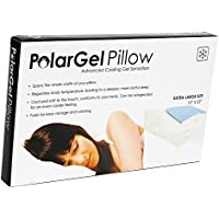 New Home Innovations PolarGel Cool Pillow Pad Hot Flash Pillow