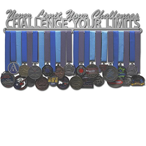 Allied Medal Hanger - Challenge Your Limits (24' wide with 1 hang bar)