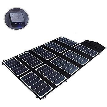 Amazon.com: SUNKINGDOM S 65W 2-Port DC USB Solar Battery