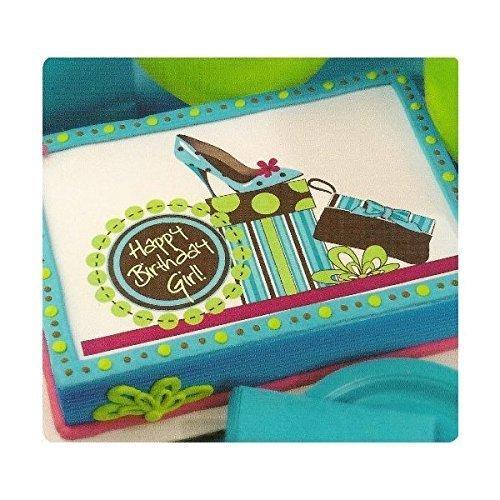 UPC 696736003875, Happy Birthday Girl ~ Edible Image Cake Topper