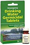 1 PACK OF WATER PURIFICATION TABLETS-DRINKABLE WATER IN 30 MINUTES! 50 TABS