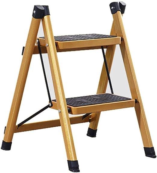 Escalera Escalera Plegable Taburete Pequeña Escalera Gigante Escalera De Un Lado De La Cocina Estudio Escalera Pequeña Taburete para Niños Capacidad De Carga 100 Kg: Amazon.es: Hogar