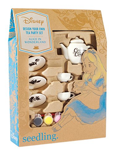 Seedling Disney's Alice In Wonderland Design Your Own Tea Party Set Activity Kit