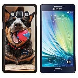 LECELL--Funda protectora / Cubierta / Piel For Samsung Galaxy A7 A7000 -- Ganado Jugar Feliz canina --