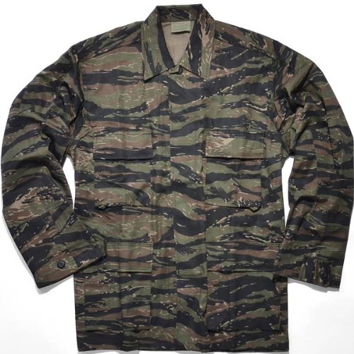 Rothco BDU Shirt - Tiger Stripe, M ()
