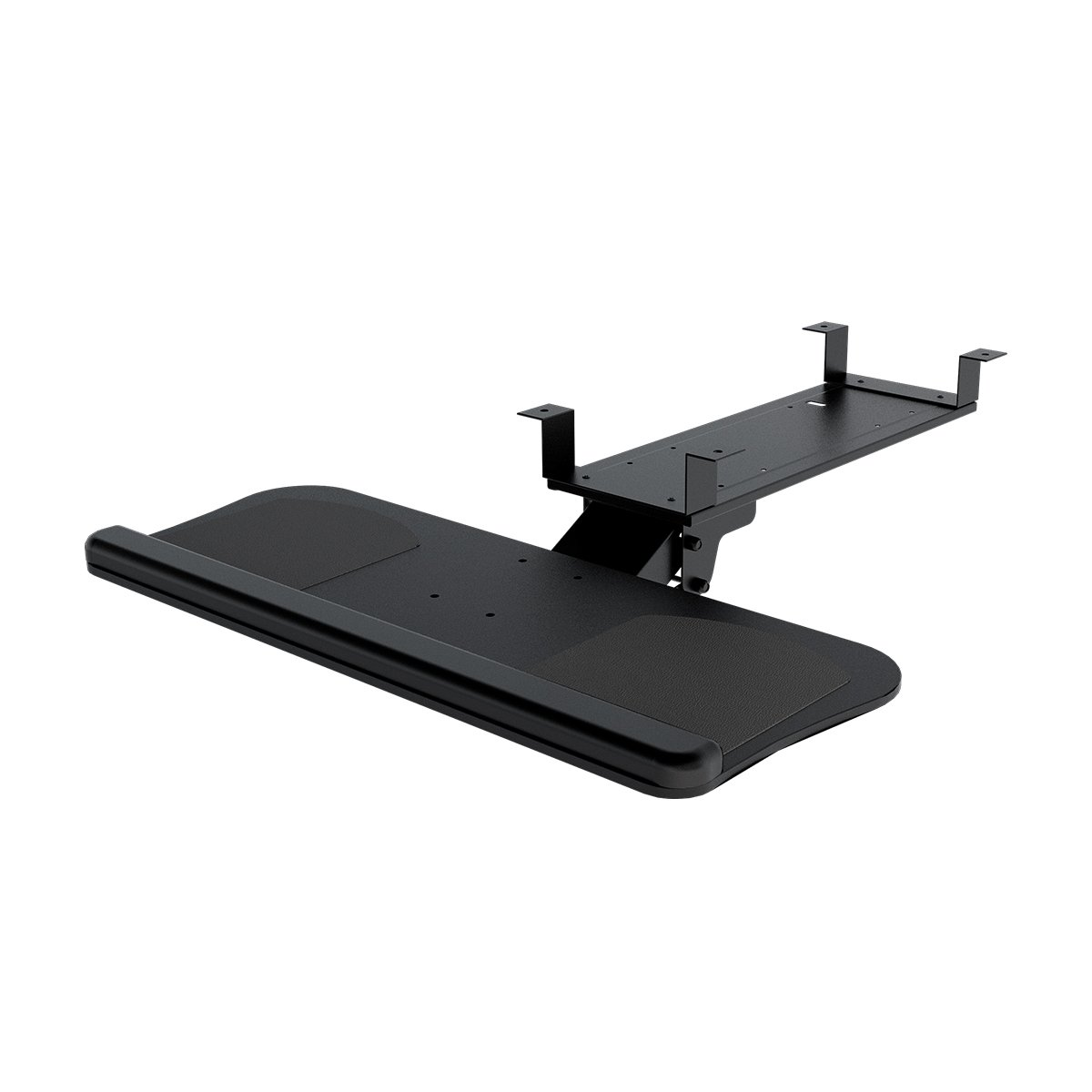 DEVAISE Adjustable Keyboard & Mouse Platform Tray with Gel Wrist Rest Pad and Non-Skid pads by DEVAISE
