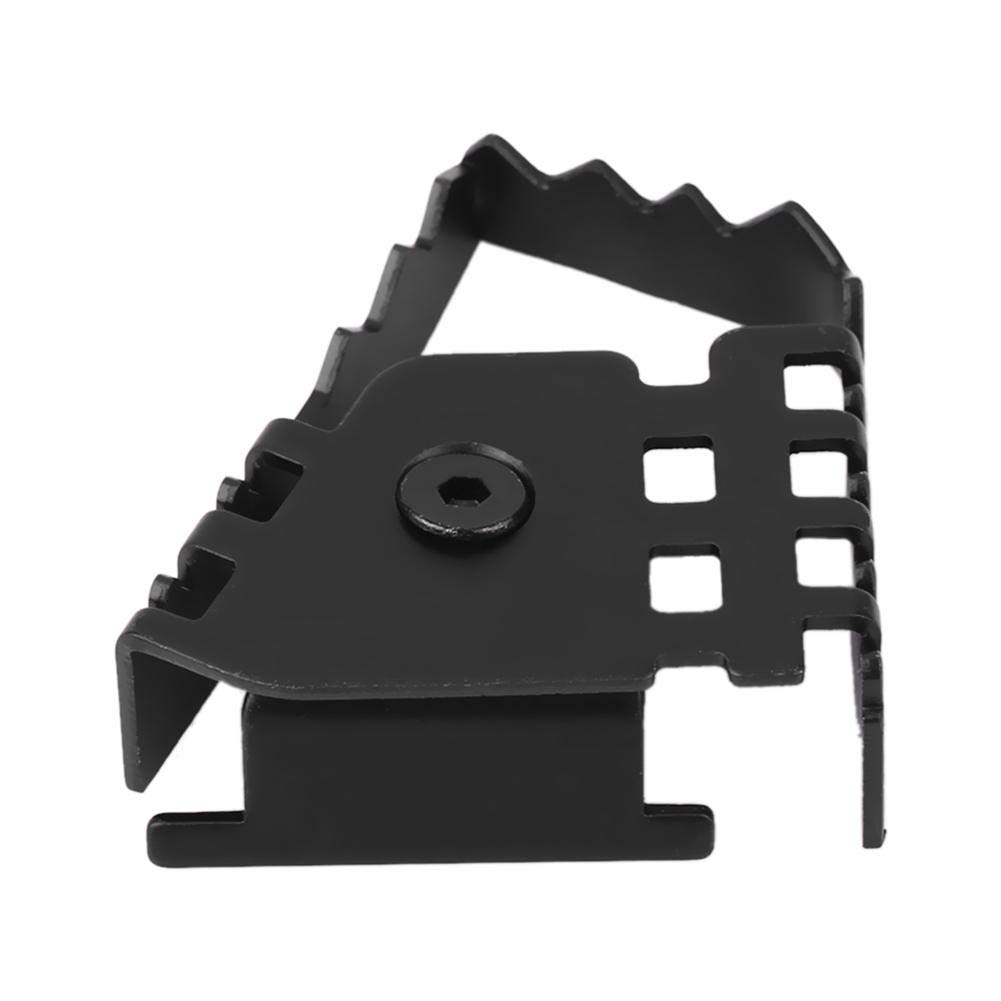 Black Motorcycle Rear Foot Brake Lever Pedal Enlarge Extension Pad Extender F800GS F700GS