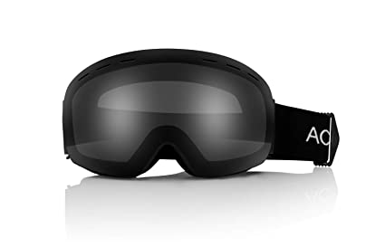 7a82a3a22ba ACE SPORTS OTG Ski Snowboard Snowmobile Goggles with Spherical Detachable  Lens Anti-Frog UV Protection