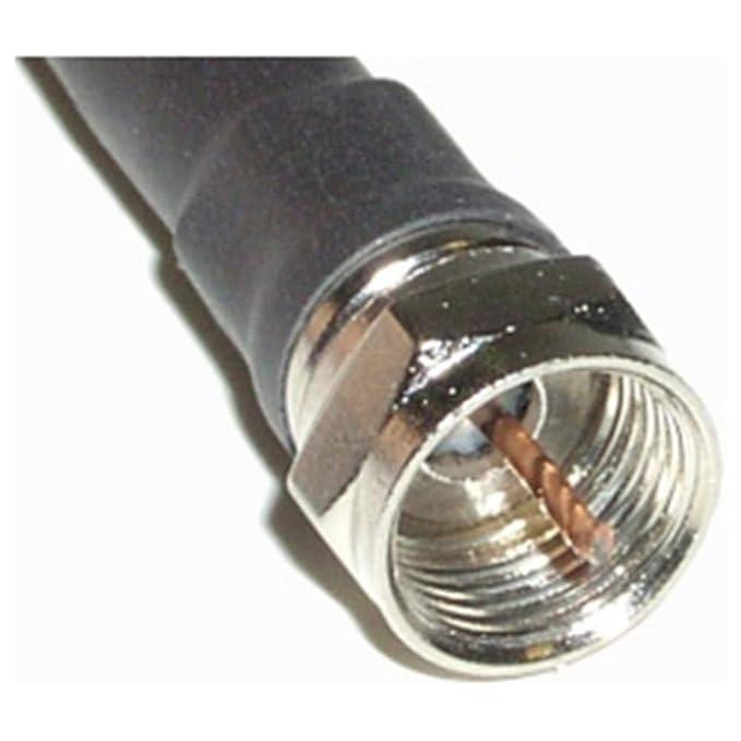 Cablematic - Cable coaxial RG6U F Macho a F Hembra de 10m: Amazon.es: Electrónica