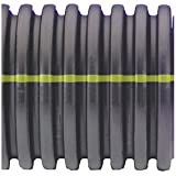 """Advanced Drainage Systems 15510020 Solid Corrugated Singlewall Pipe, 15"""" x 20'"""