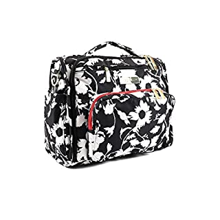 JuJuBe B.F.F Multi-Functional Convertible Diaper Backpack/Messenger Bag, Legacy Collection - The Imperial Princess