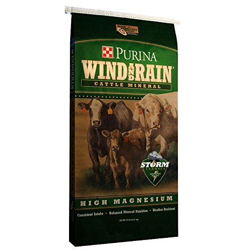 Purina Animal Nutrition Wind Rain Storm Hi Mag 4 Complete Beef Cattle Mineral