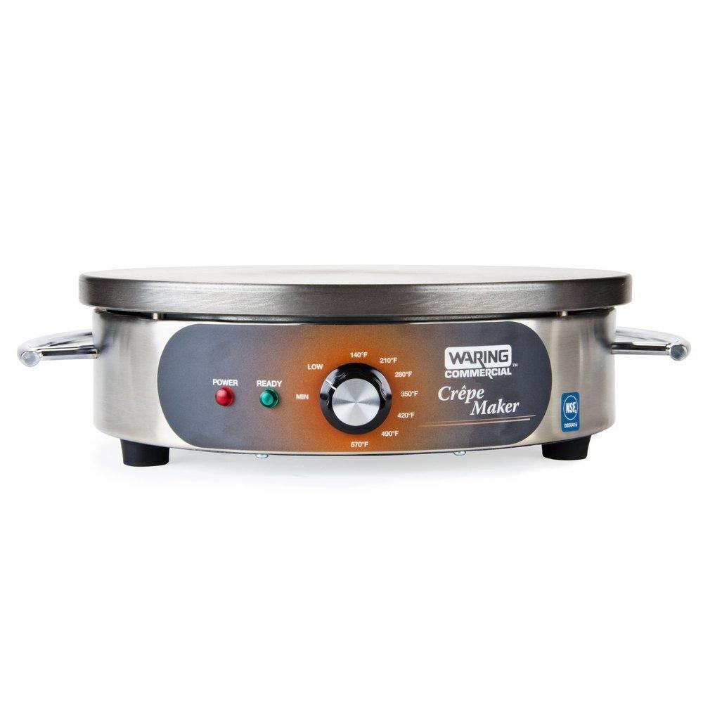 Waring Commercial WSC165B Crepe Maker, 208-volt
