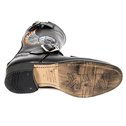 New Rock Men's Boots Black mZClBX