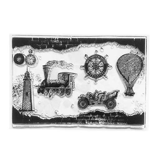 hot air balloon stamp - 8