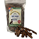 Cheap Green Butterfly Brands Organic Grain Free Dog Treats – Made in USA Only – All Natural, Meaty Beef Sticks – Premium Slow Roasted American Beef – Grass Fed, Farm Raised – Crunchy & Delicious – Dogs Love