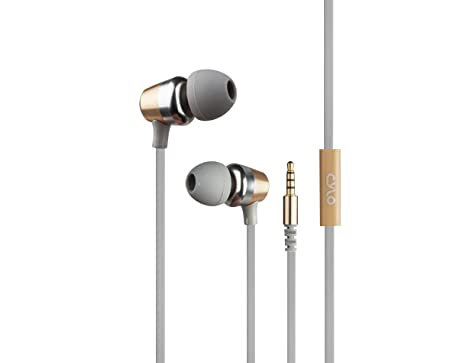 0b94fa17da3 CYLO Platinum Series Metallic Wired in-Ear Earbuds/Headphones/Earphones  Gold with Remote