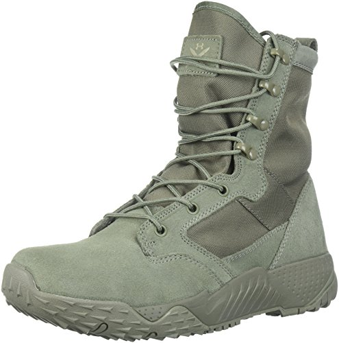 Under Armour Men's Jungle Rat Military and Tactical Boot, (385)/Sage, 11