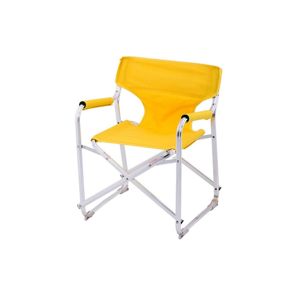 Kaiyu Outdoor-Reise Klappstuhl Direktor Stuhl Portable Beach Chair Tourist Stuhl Grill Stuhl 44x37x52cm