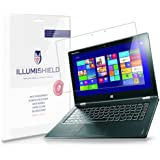 iLLumiShield - Lenovo Yoga 2 Pro Screen Protector Japanese Ultra Clear HD Film with Anti-Bubble and Anti-Fingerprint - High Quality (Invisible) LCD Shield - Lifetime Replacement Warranty - [2-Pack] OEM / Retail Packaging