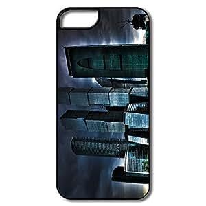 IPhone 5c 5c Cases, Skyscrapers Cases For IPhone 5c 5c - Whiteblack Hard Plastic