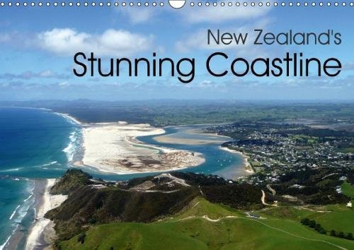 Read Online New Zealand's Stunning Coastline 2018: Aerial Pictures of the Most Beautiful Coastlines of New Zealand (Calvendo Places) pdf