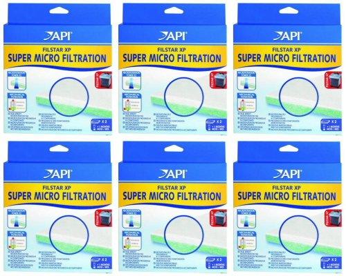 Filstar Micro Filtration Pads - API Filstar XP Filter Super Micro-Filtration Pads, 12ct (6 x 2ct)
