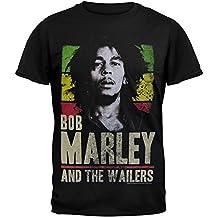 Bob Marley - Wailers Rasta Stripe T-Shirt