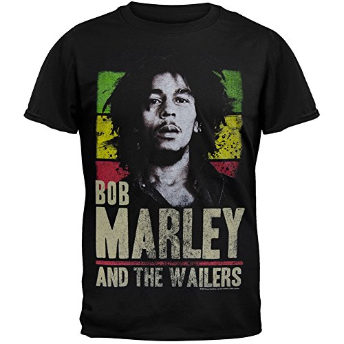 Bob Marley Stripe T-shirt - 4