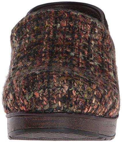 Pro Women's Dansko Textured Fabric Brown Mule qEZwRSp