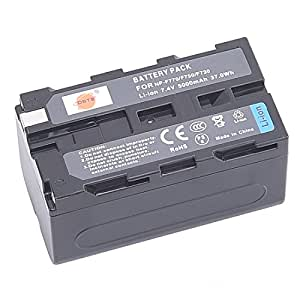 DSTE NP-F750 Replacement Li-ion Battery for Sony CCD-TRV215 CCD-TR917 CCD-TR315 HDR-FX1000 HDR-FX7 HVR-V1U HVR-Z7U HVR-Z5U Camera as NP-F730 NP-F770