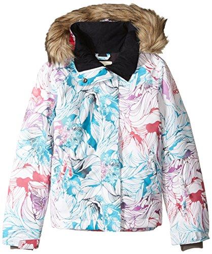 Roxy Big Girls' American Pie Snow Jacket, Snow Twist, - Twist Pie