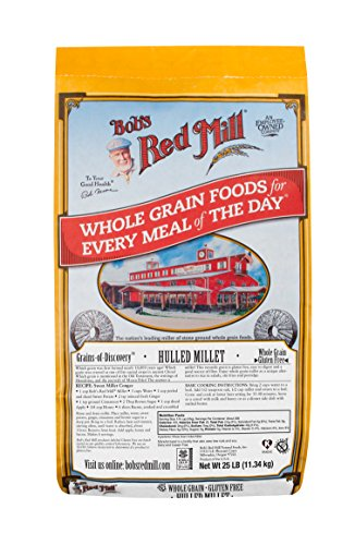 Bob's Red Mill Whole Grain Millet, 25 Pound