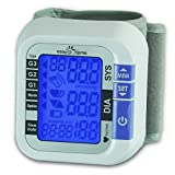 Easy@Home Digital Wrist Blood Pressure Monitor with Heart Beat / Pulse Meter function - Top Selling FDA-approved For OTC use Blood Pressure Monitor (BP Monitor) - Carry Case and Battery are included