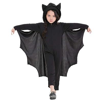 Meeyou Kids Unisex Vampire Bat Costume: Clothing [5Bkhe1006812]