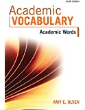 Academic Vocabulary: Academic Words (6th Edition)