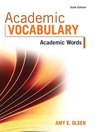 Academic Vocabulary: Academic Words (6th Edition)