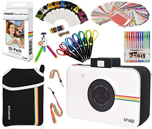 Polaroid Accessory Holiday Gift Bundle  + ZINK Paper  + Snap