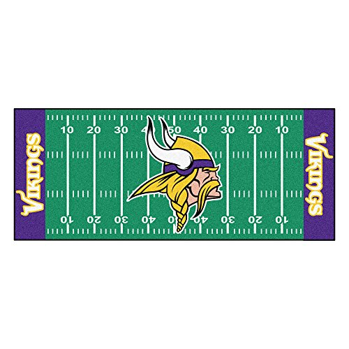 nesota Vikings Nylon Face Football Field Runner , 30