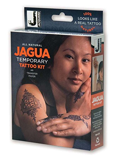 Jacquard Jagua Temporary Tattoo Kit with Transfer Paper -