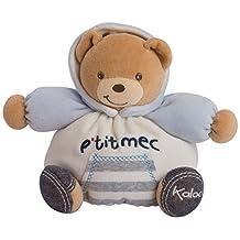 Kaloo Blue Denim Small Gutsy Chubby Bear