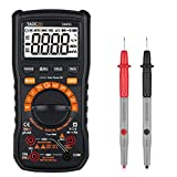Tacklife DM05 Classic Digital Multimeter Auto/Manual Range 6000 Counts with Voltage, Current, Frequency, Capacitance, Resistance, Continuity, Diode, Triode, Duty Cycle Test